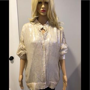 Vintage Candlelight by Jainsons intl sequin jacket